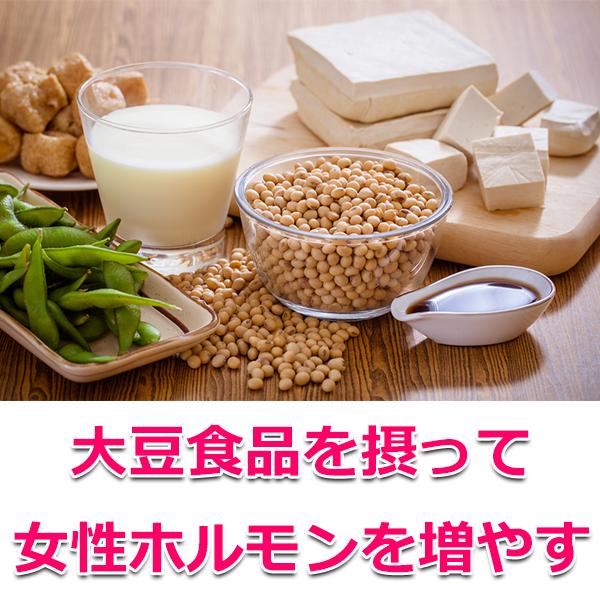 大豆製品を摂る