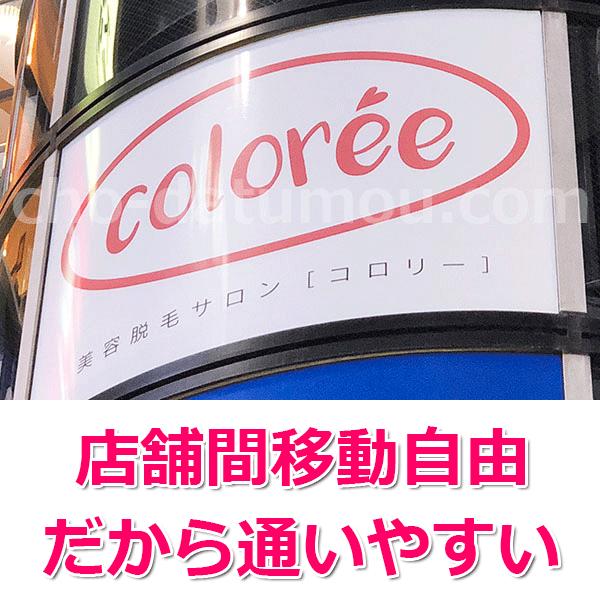 コロリーの店舗一覧