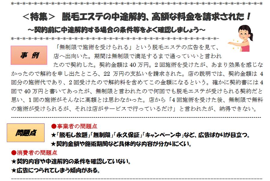脱毛トラブル2【料金】